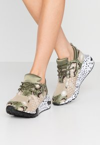 Steve Madden - CLIFF - Sneakers - olive/brown - 0