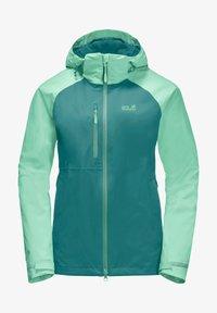 Jack Wolfskin - Hardshell jacket - emerald green - 4