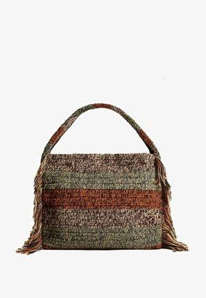 Shopping bag - burgunder