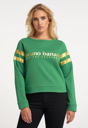 Sweater - piniengrün