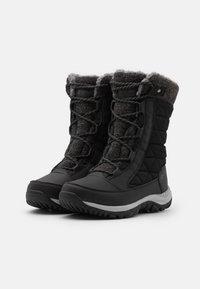 Hi-Tec - AURORA WP - Botas para la nieve - black/mid grey - 1