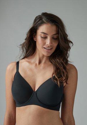 2 PACK - T-shirt bra - black