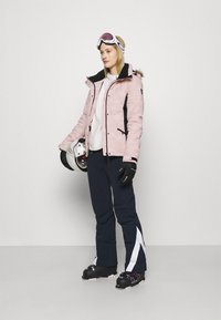 Superdry - SNOW LUXE PUFFER - Skijakke - pink - 1