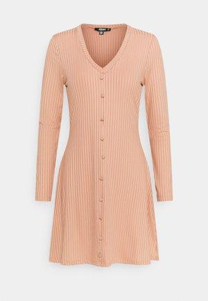 RECYCLED BUTTON FRONT DRESS - Robe d'été - pink