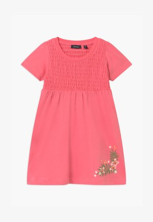 SMALL GIRLS FLOWER - Vestito di maglina - rot