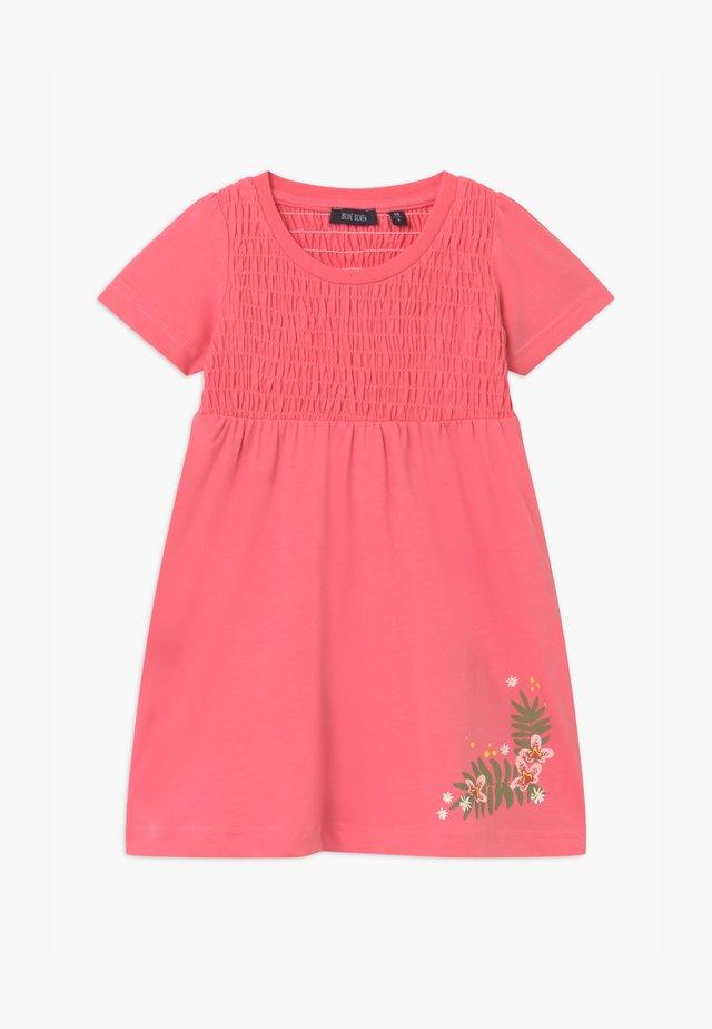 SMALL GIRLS FLOWER - Jersey dress - rot