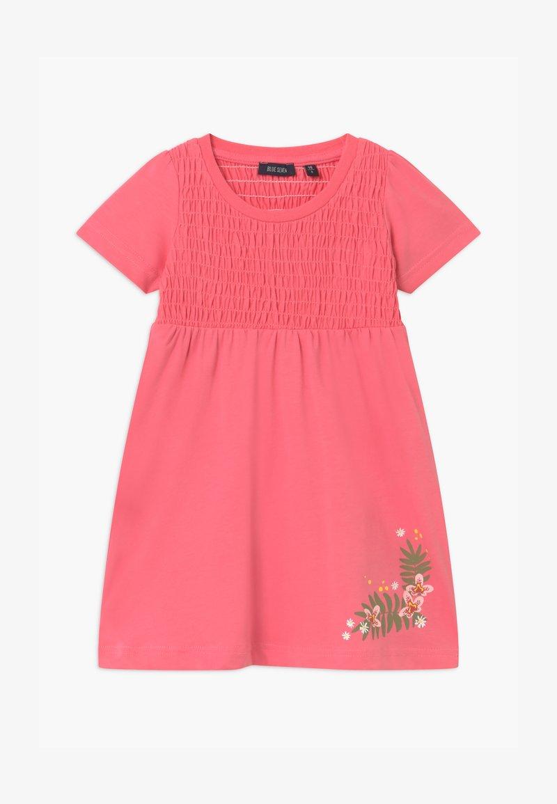 Blue Seven - SMALL GIRLS FLOWER - Žerzejové šaty - rot
