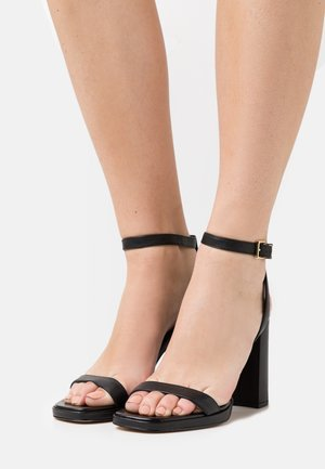 ANGELA ANKLE STRAP - Sandals - black