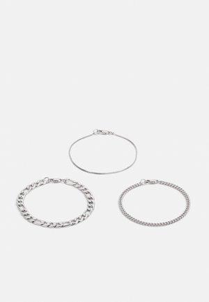 UNITY BRACELET 3 PACK - Armband - silver-coloured