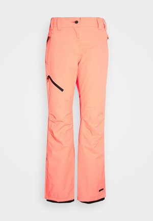 CURLEW - Snow pants - coral/red