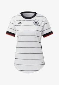adidas Performance - DEUTSCHLAND DFB HEIMTRIKOT - Club wear - white - 7