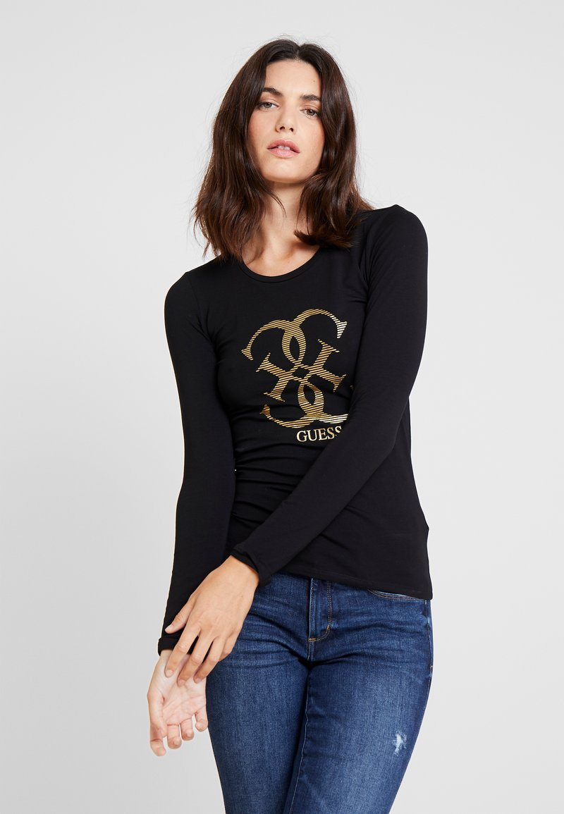 Guess - T-shirt à manches longues - jet black