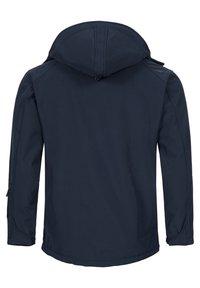 Alessandro Salvarini - Soft shell jacket - navy - 1