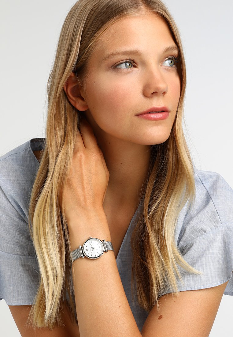 Fossil - CARLIE - Klokke - silver-coloured