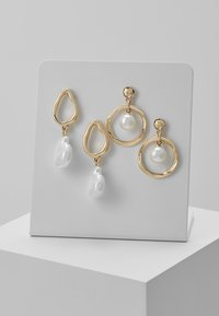 ONLY - Pendientes - gold-coloured - 0