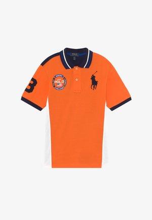 Polo shirt - bright signal orange