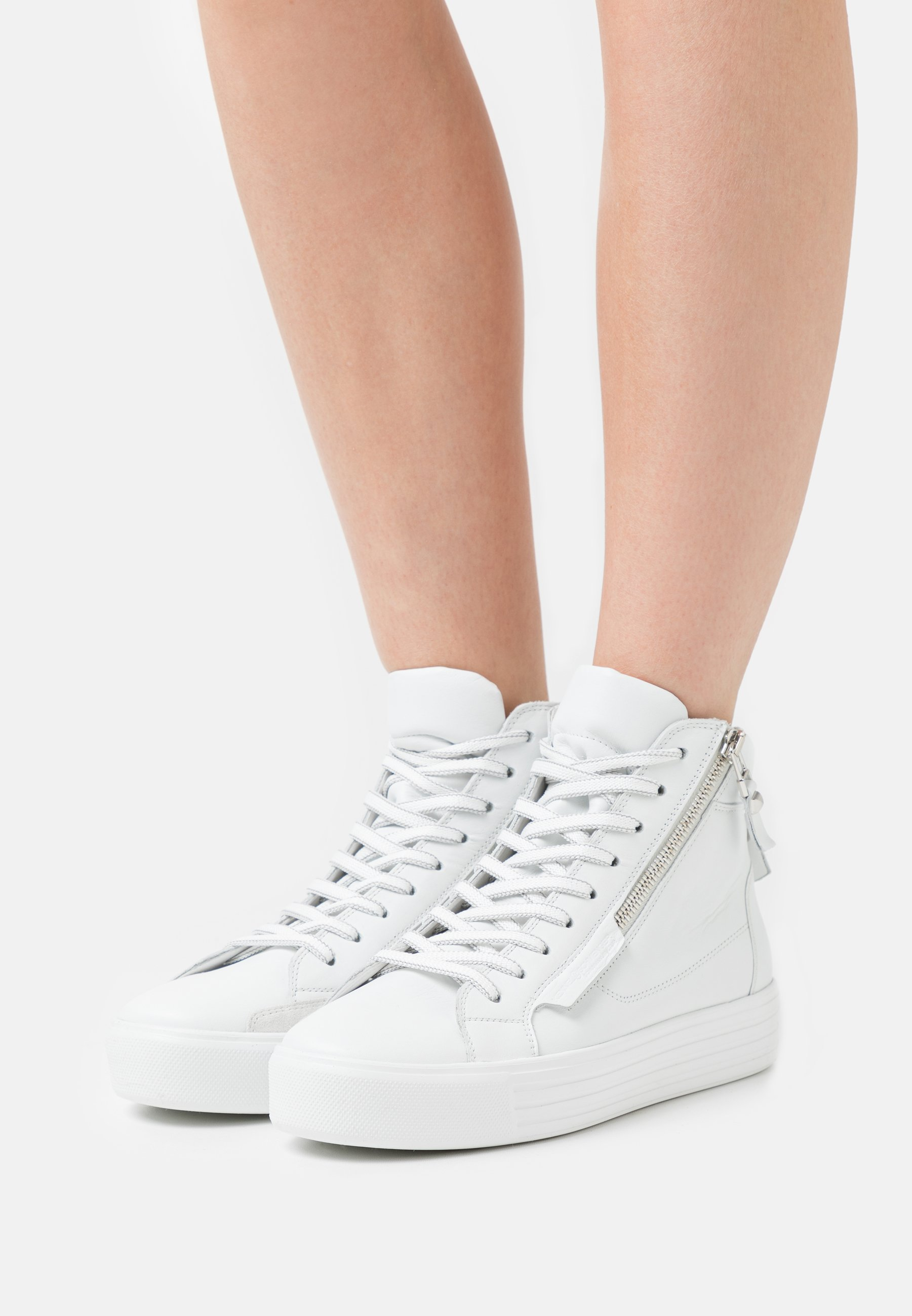 Women UP - High-top trainers - bianco