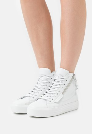 UP - High-top trainers - bianco