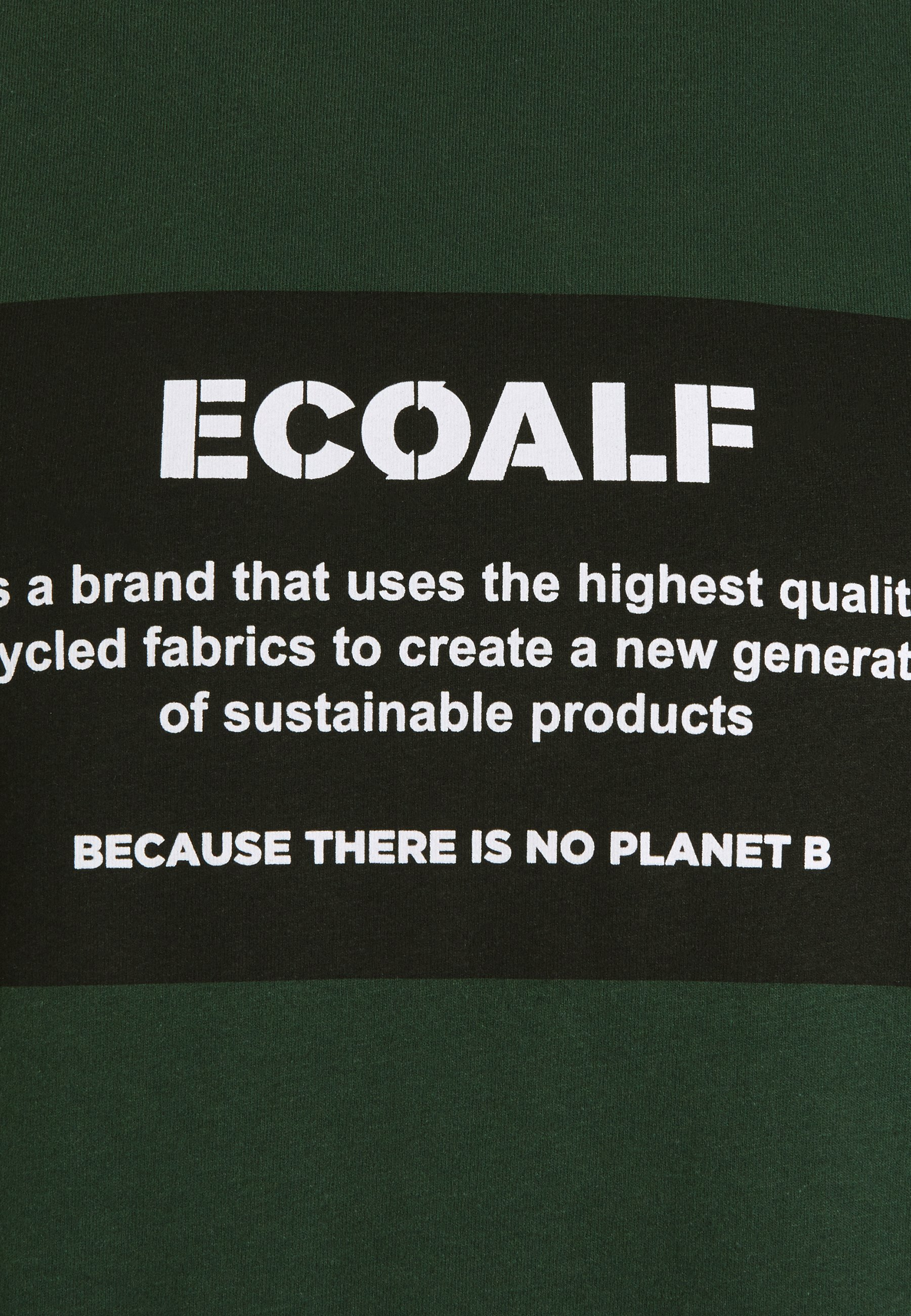 Ecoalf NATAL PATCH - Print T-shirt - korean green MmGGi