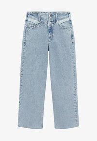 Mango - JULIETA - Relaxed fit jeans - middenblauw - 5