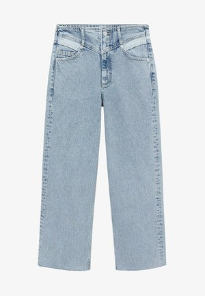 JULIETA - Relaxed fit jeans - middenblauw