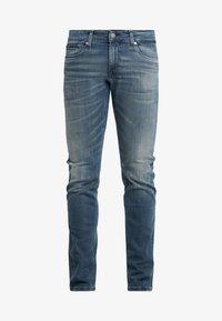 Tommy Jeans - SCANTON SLIM - Slim fit -farkut - blue denim - 4