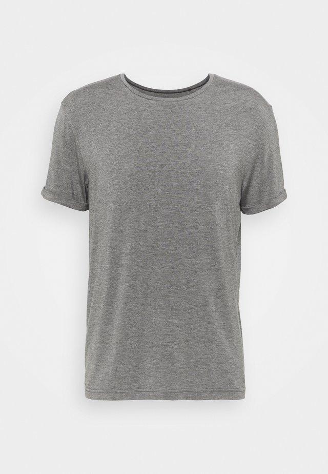 MEN - T-shirt basique - anthrazit melange