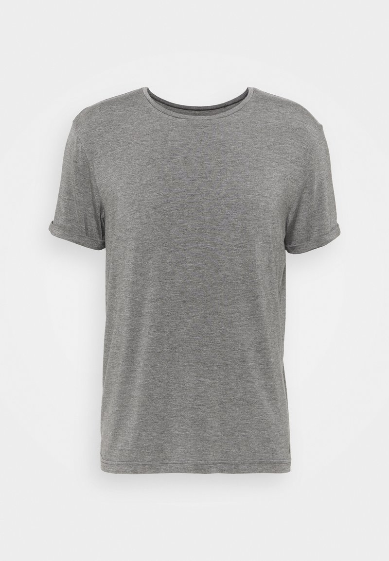 Curare Yogawear - MEN - T-shirt basic - anthrazit melange