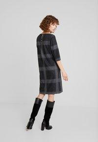 Esprit - SWEAT DRESS - Gebreide jurk - black - 3