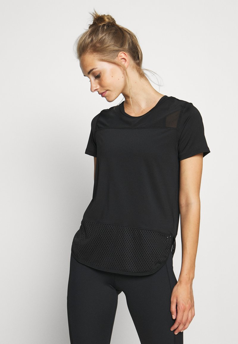 Hunkemöller - PERFORMANCE - Sports shirt - black