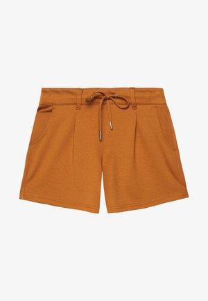 PONTE - Shorts - mango brown