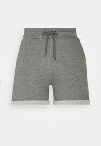 ONLY Play - ONPARETHA JAZZ  - Sports shorts - medium grey melange/dark grey - 6