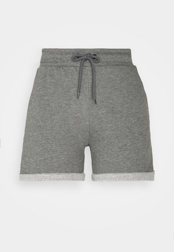 ONPARETHA JAZZ  - Sports shorts - medium grey melange/dark grey