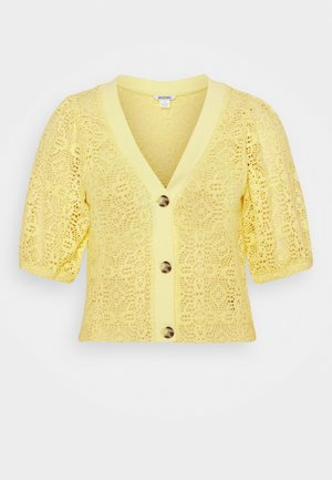 CHRIS  - Cardigan - yellow
