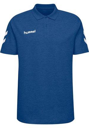 Polo shirt - true blue