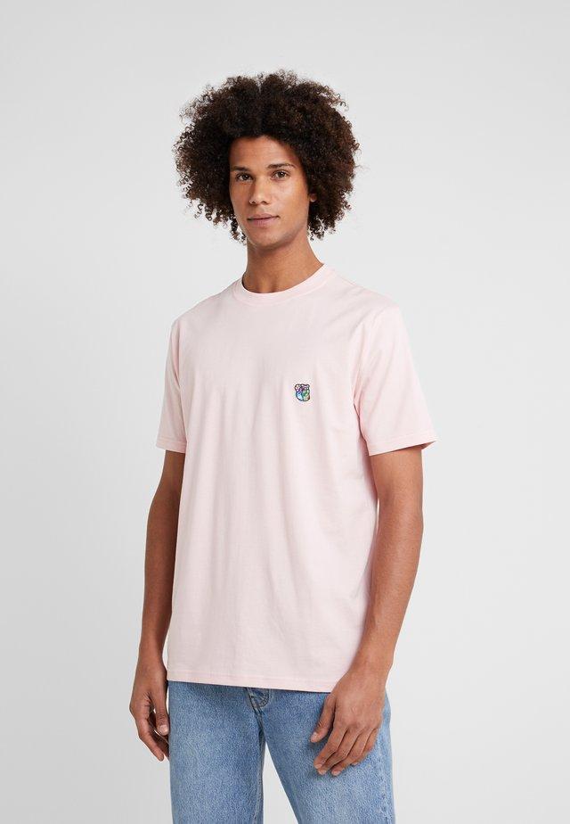FRANK - Basic T-shirt - pink copenhagen teddy