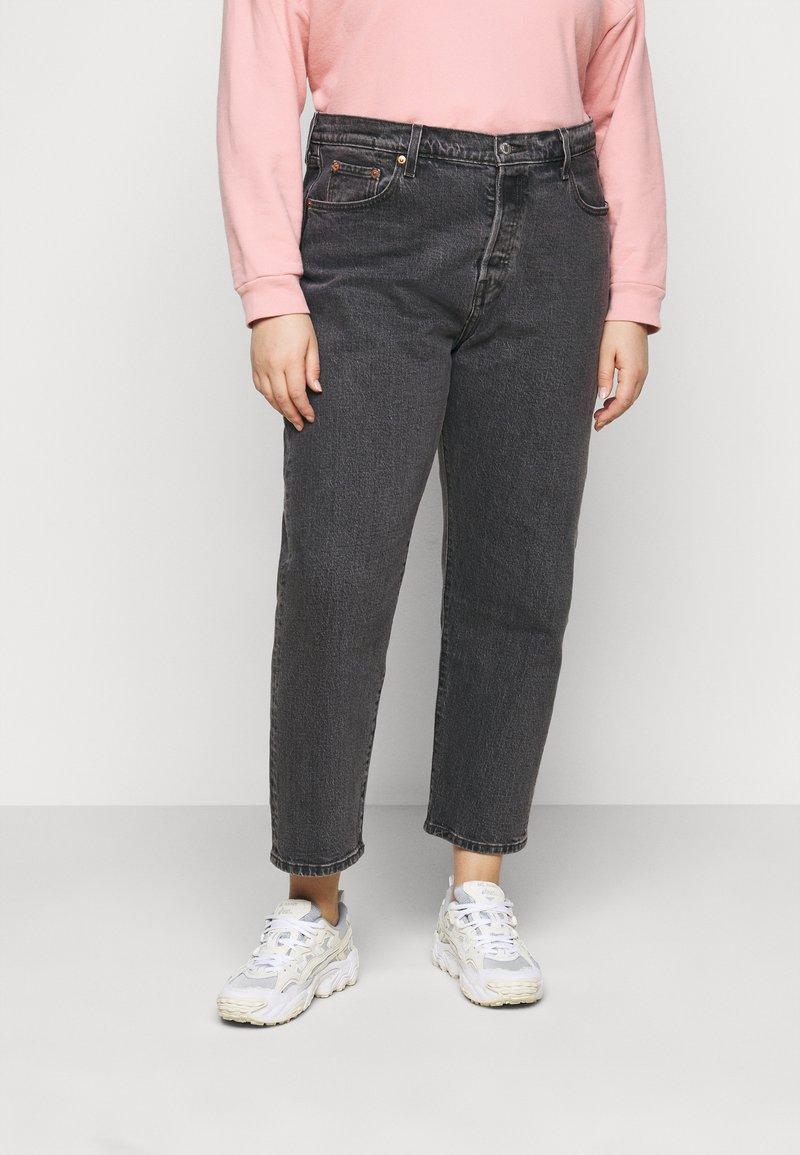 Levi's® Plus - PL 501® CROP - Jeans Skinny Fit - cabo fade 2