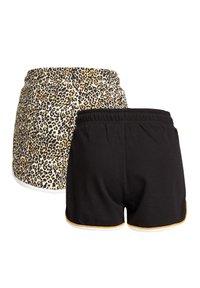 WE Fashion - 2-PACK - Shorts - black - 5