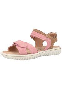 Superfit - Walking sandals - rosa/beige - 1