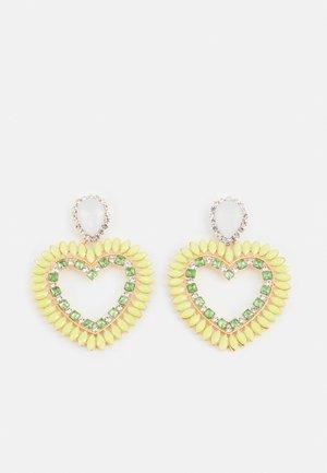 FGHEARTINIA EARRINGS - Earrings - gold-coloured/multi
