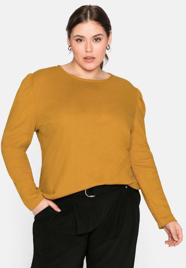 T-shirt à manches longues - curry