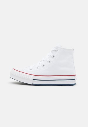 CHUCK TAYLOR ALL STAR EVA LIFT - Sneakersy wysokie - white/garnet/midnight navy