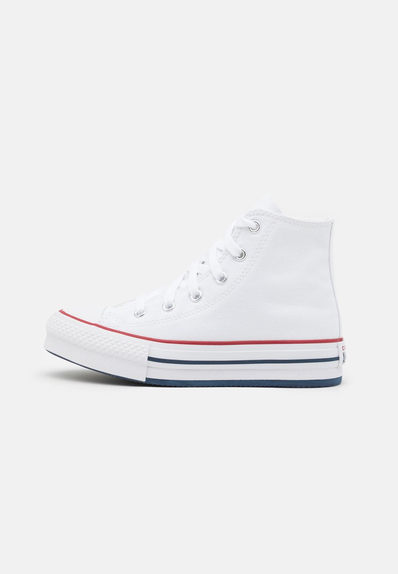 Converse - CHUCK TAYLOR ALL STAR EVA LIFT - Baskets montantes - white/garnet/midnight navy
