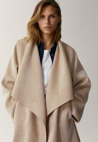 Massimo Dutti - Classic coat - beige - 2