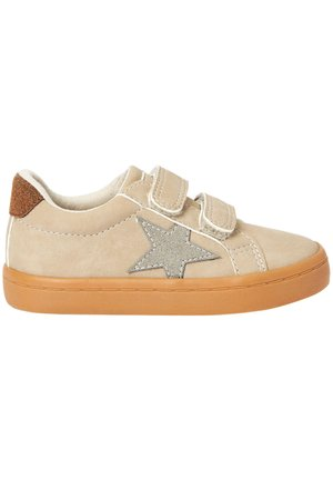 BLACK DOUBLE STRAP STAR  - Sneakers basse - stone