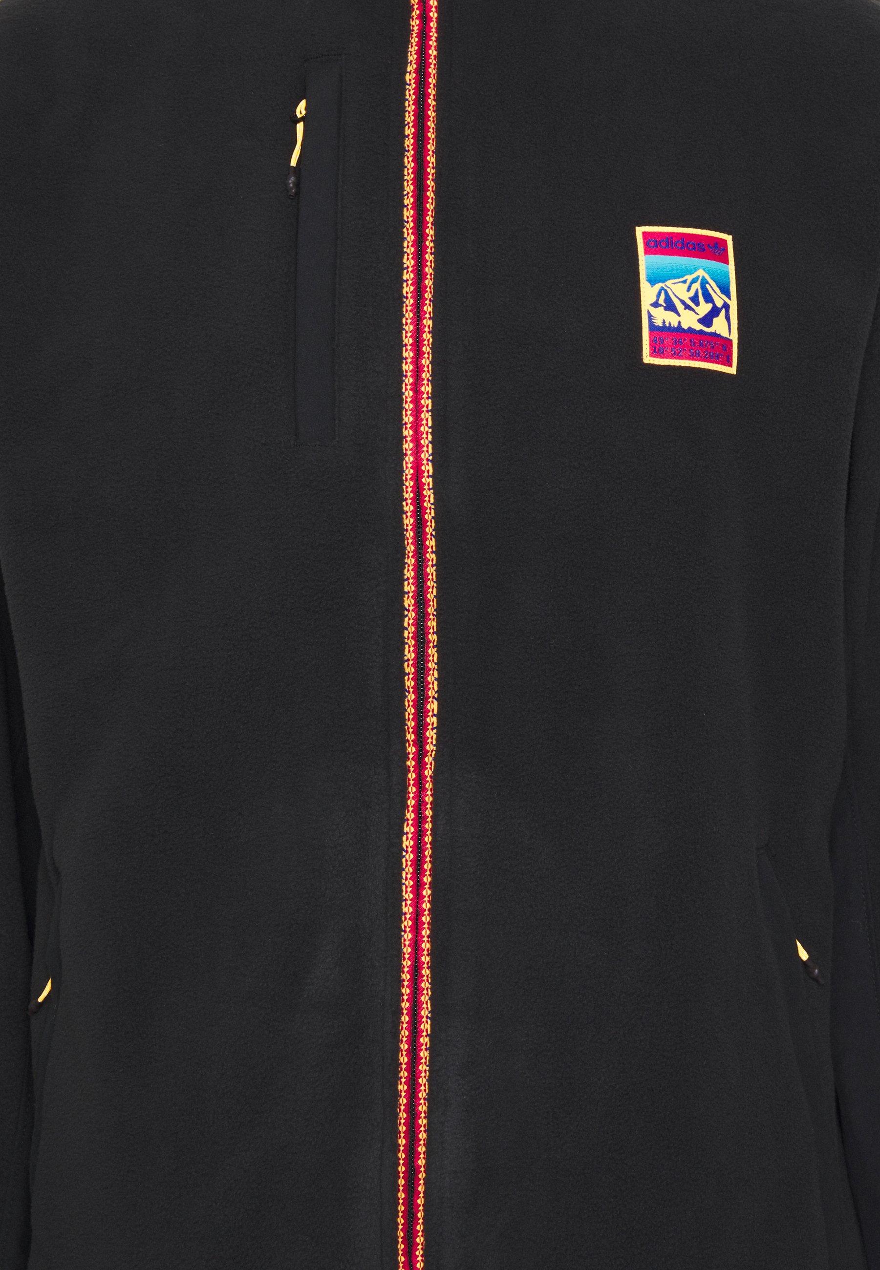 Original Limited New Men's Clothing adidas Originals SPORTS INSPIRED TRACK T Fleece jacket black bSSjXzzhI k5Ud1EDLZ