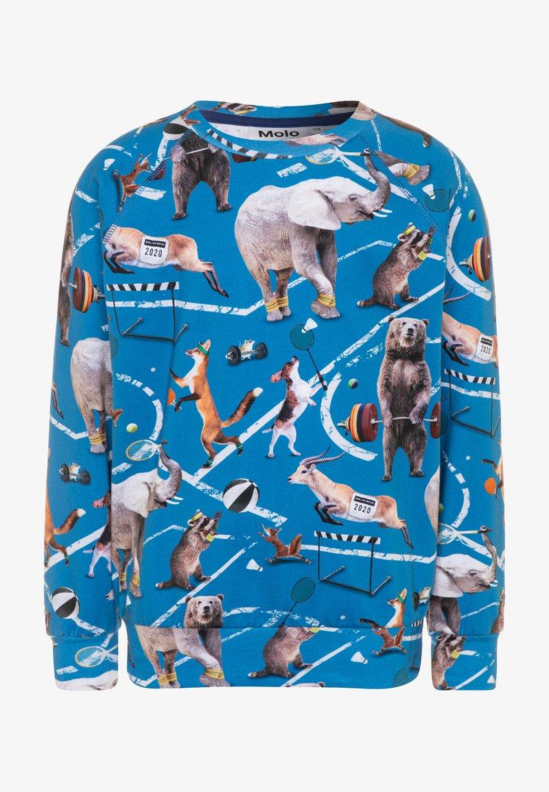 Molo - ROMEO - Sweater - blue