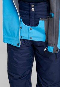PYUA - EXCITE - Snowboard jacket - stellar blue/malibu blue - 6