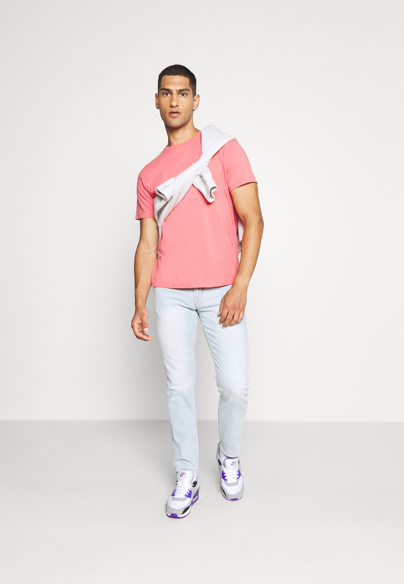Topman - 3 PACK - T-shirt - bas - grey/green