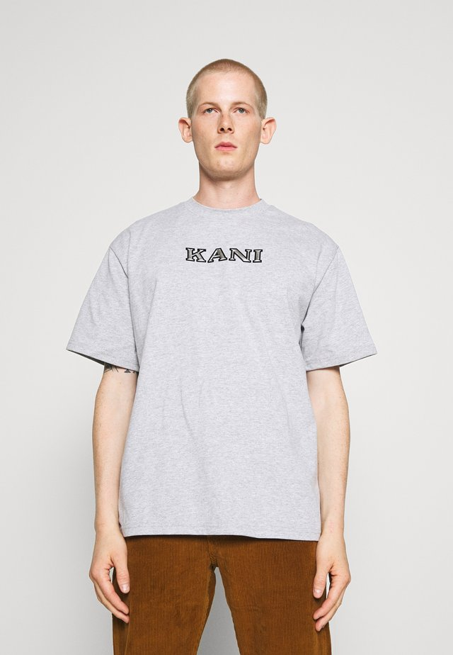 RETRO TEE - Print T-shirt - ash grey